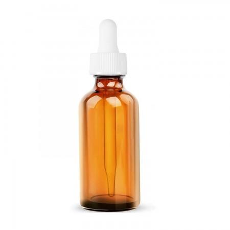 10 ML Amber Aroma Şişesi Boş Damlalıklı Dropper Şişe Cam Pipet Beyaz Kilitli Kırılır Kapak Beyaz Lastik