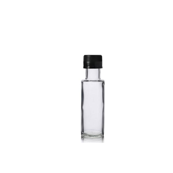 100 ML Şeffaf Kare Şişe